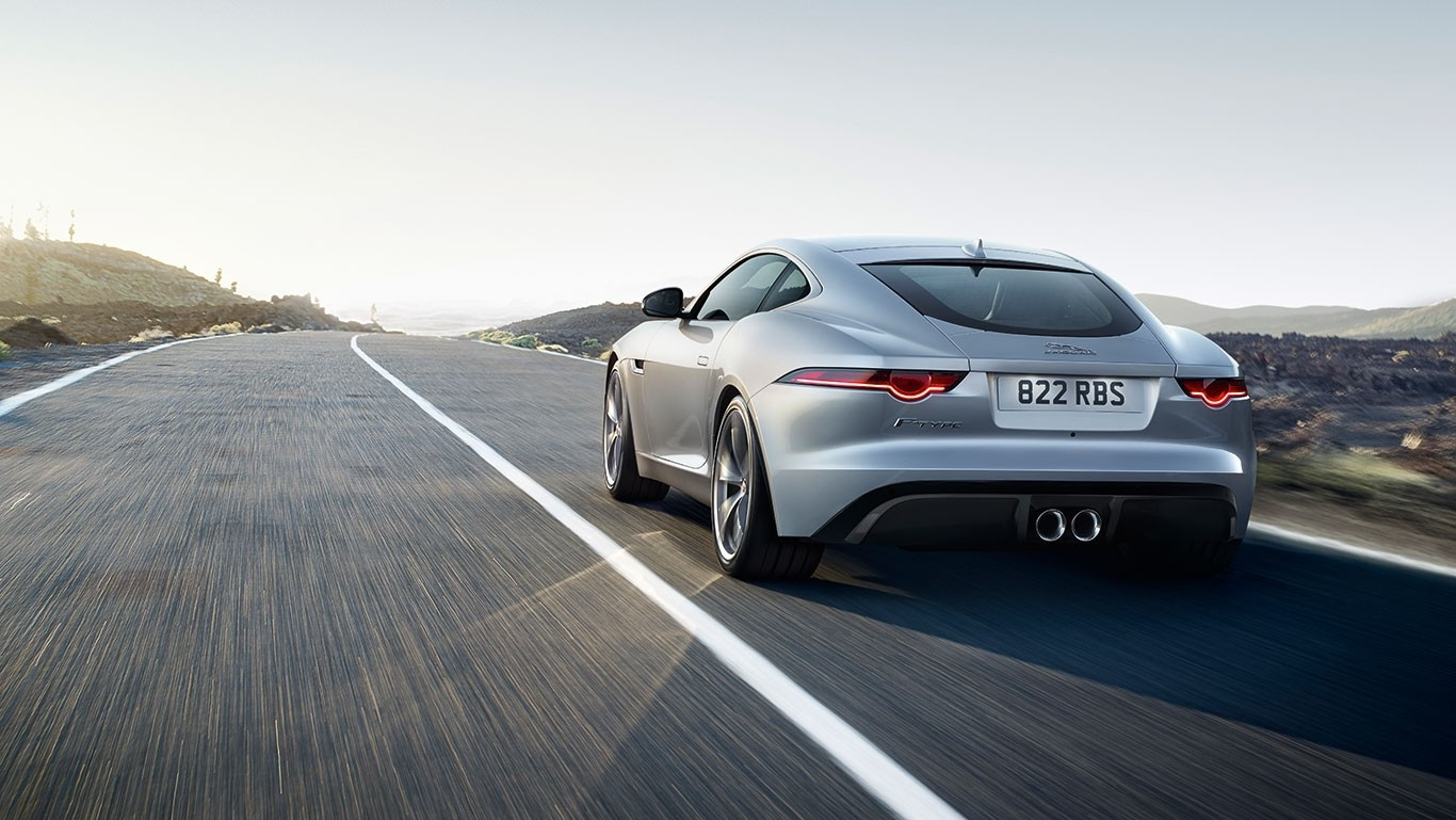 2018 Jaguar F-TYPE driving
