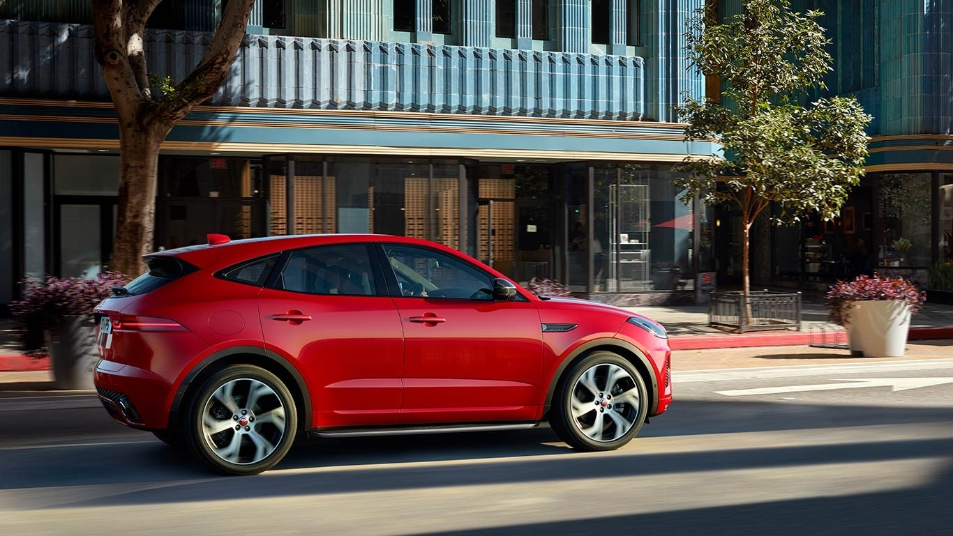 2018 Jaguar E-PACE First Edition driving