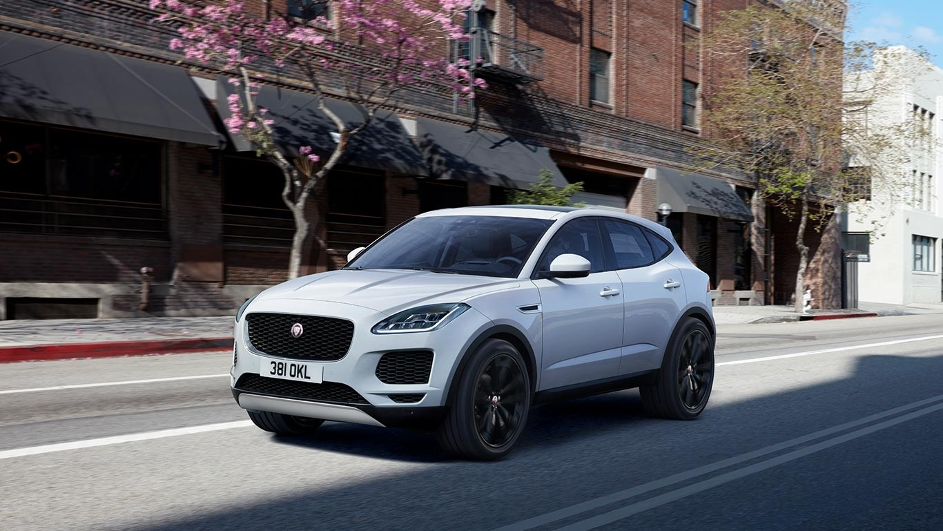 2018 Jaguar E-PACE driving