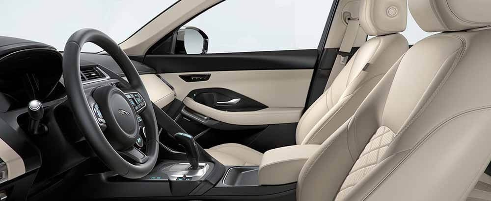 2018 Jaguar E-PACE Interior