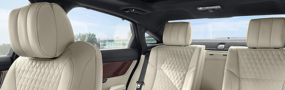 2018 Jaguar XJ Interior Rear Seats banner