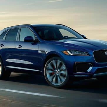 2019 Jaguar F-Pace blue