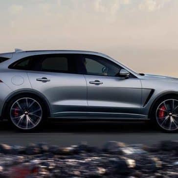 2019 Jaguar F-Pace profile view