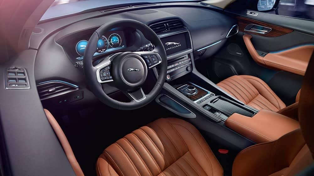 2019 Jaguar F-Pace steering wheel