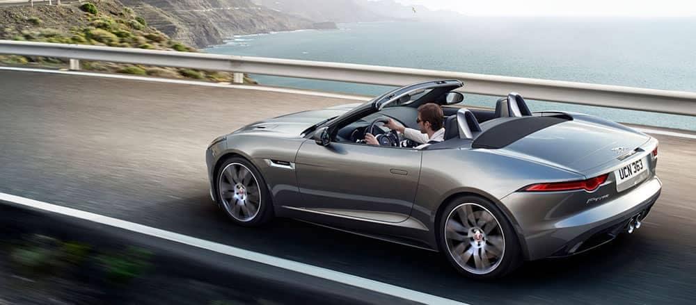2019 Jaguar F-Type Convertible driving