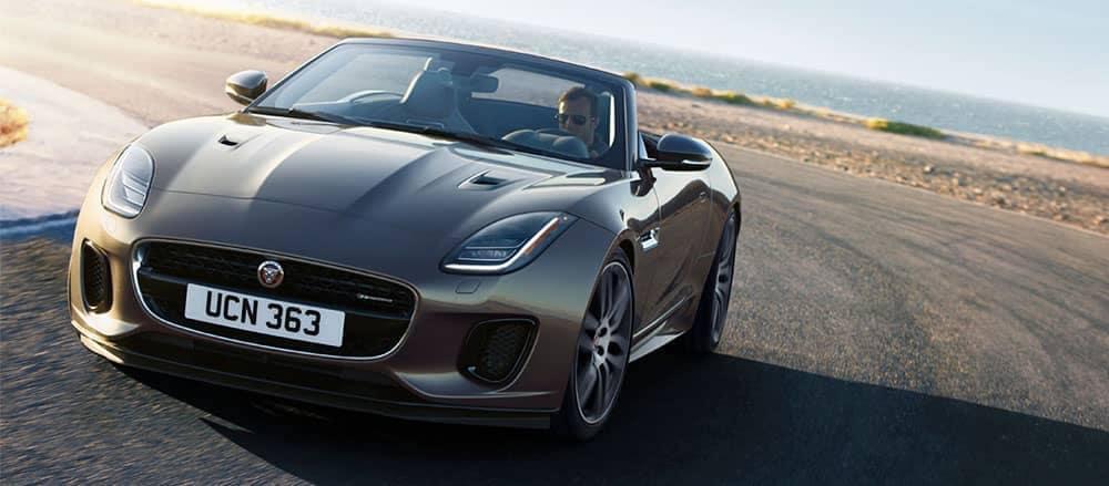 2019 Jaguar F-Type Convertible front view