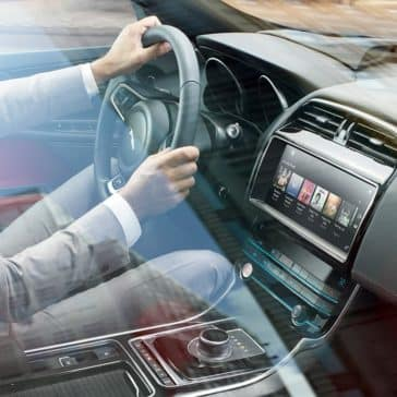 2019 Jaguar XE Interior driving