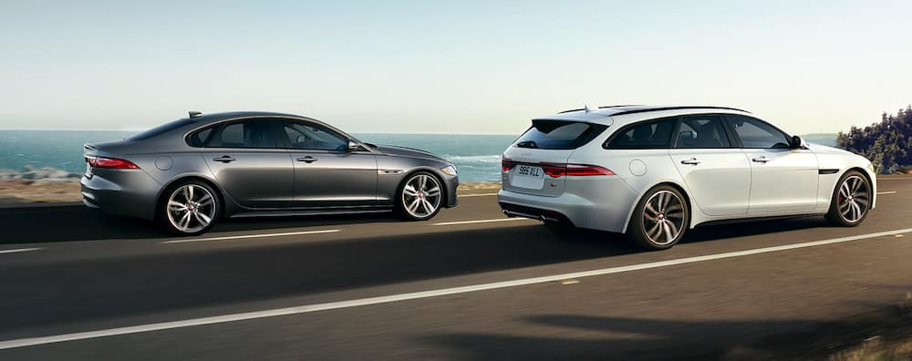 2019 Jaguar XF Sedan and Sportbrake