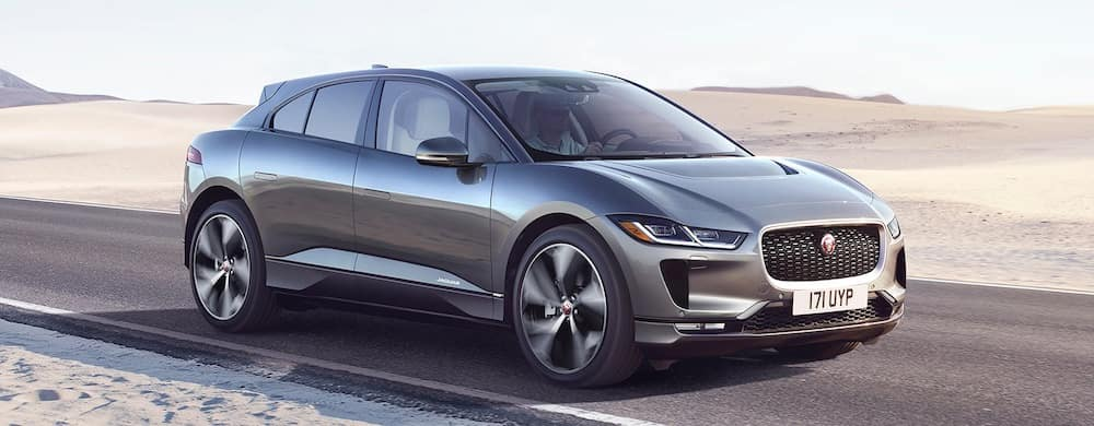 2019 Jaguar I-PACE First Edition in desert