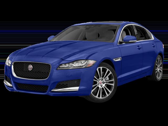 2019 Jaguar XF in blue