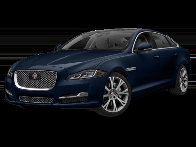 2019 Jaguar XJ dark blue