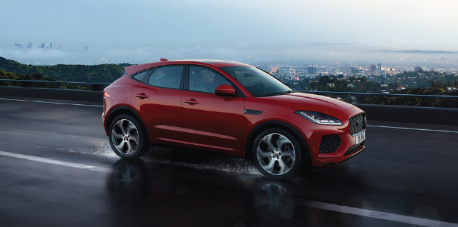 New 2020 Jaguar E-PACE SE With Navigation & AWD