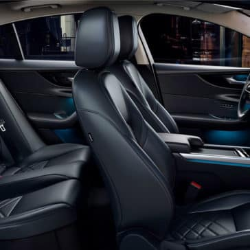 2020 Jaguar XE Seating
