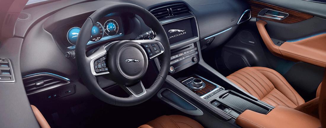 2020 Jaguar F-Pace Interior
