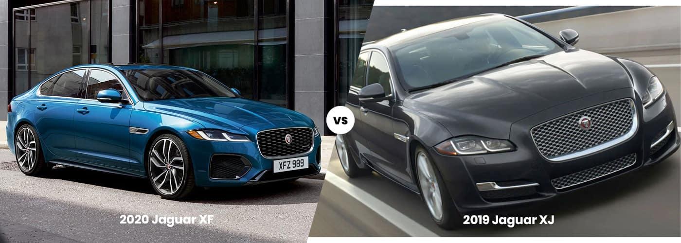 2020 jaguar xf vs. 2019 jaguar xj   price, engine power