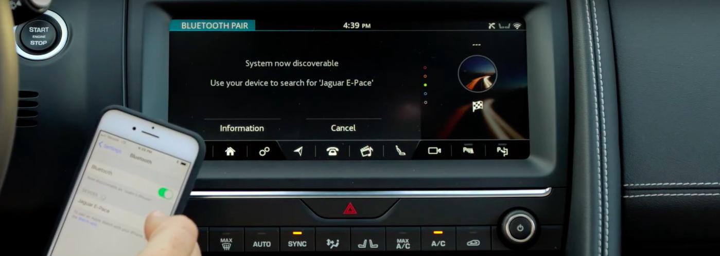 Jaguar Bluetooth Connection