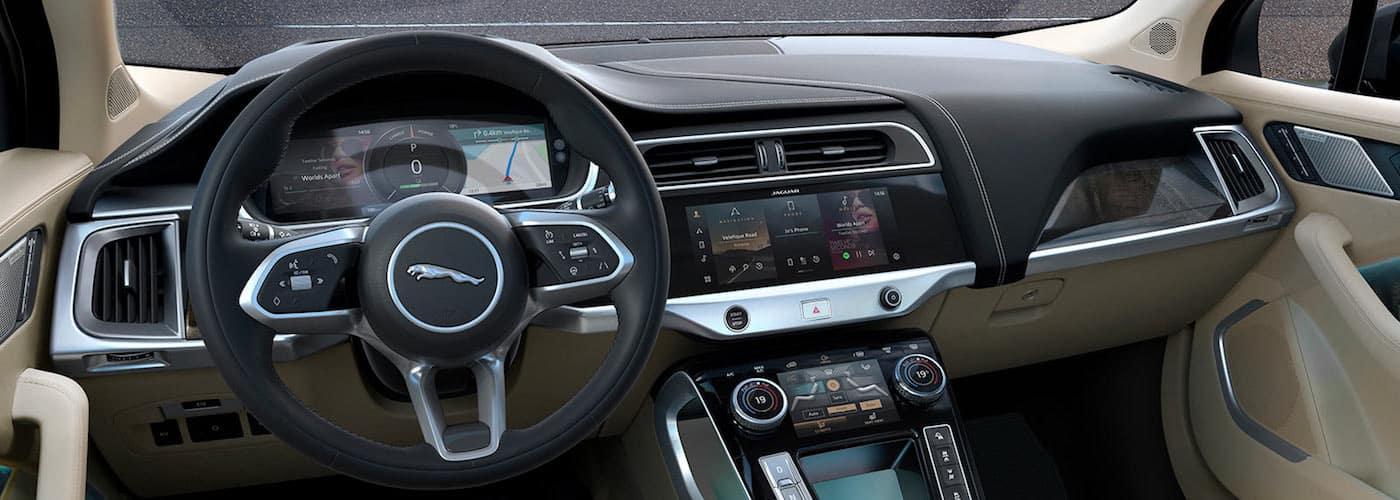 Jaguar I-PACE Pivi Pro interface