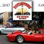 Doylestown at Dusk Car Show '17