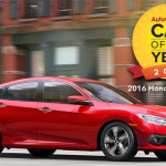 2016 Honda Civic Sedan Named AutoGuide.com Car of the Year