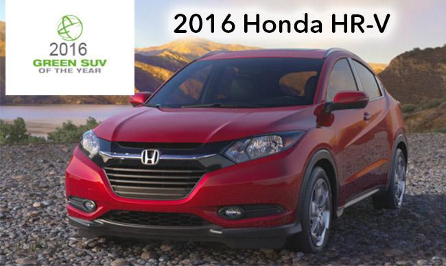 Honda Hr V Named Green Suv Of The Year Keenan Honda