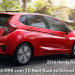 Honda Fit Ranked #1 on 2016 KBB.com best back to school cars list