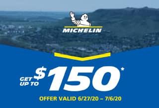 Michelin $70 Tire Rebate