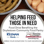 Our Annual Food Drive Has Begun