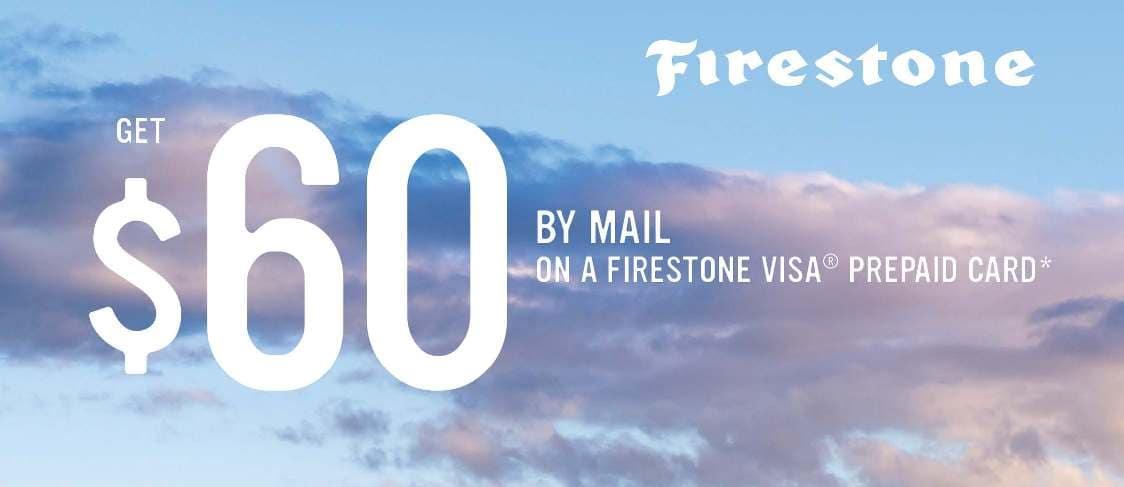 Firestone $60 Tire Rebate