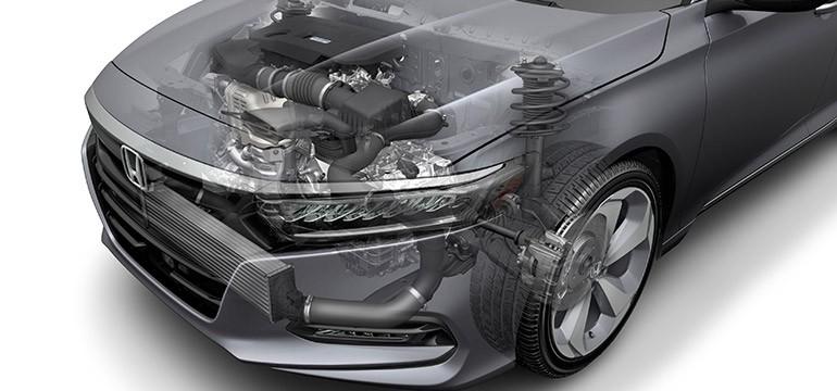 2018 Honda Accord 2.0 Liter Turbo Engine