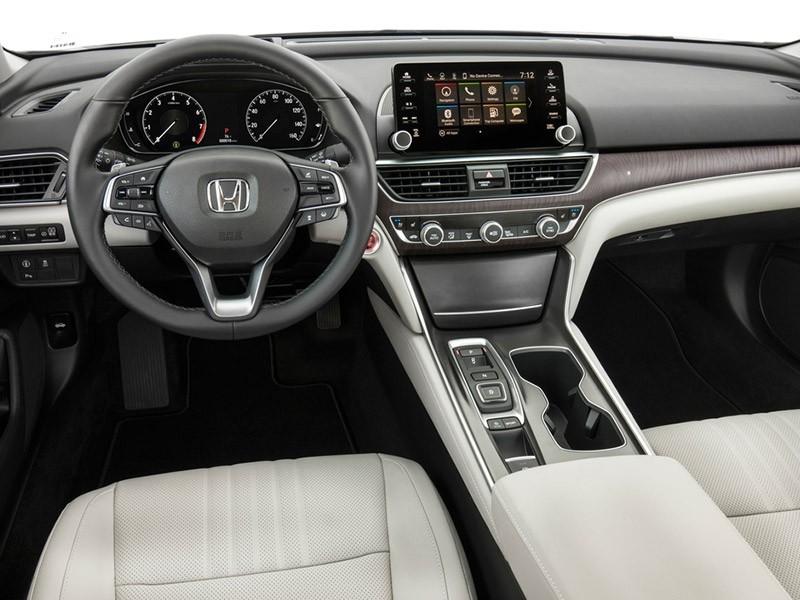 2018 Honda Accord-All-New Interior Design