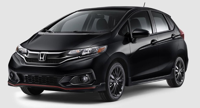 2018 Honda Fit Sport Black Crystal
