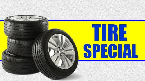 Keenan Honda Tire Special-save $100 off a set of 4 new tires ($50 off 2 new tires).