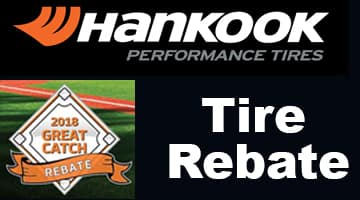 Hankook $70 Tire Rebate