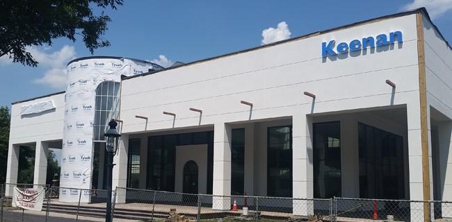 New Keenan Honda Dealership Construction Update-August 2017
