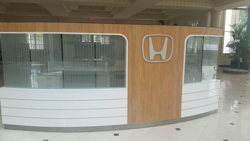 New Keenan Honda Dealership - Front Desk