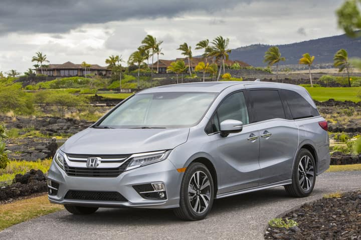 2018 Honda Odyssey Earns Top Safety Scores from IIHS and NHTSA