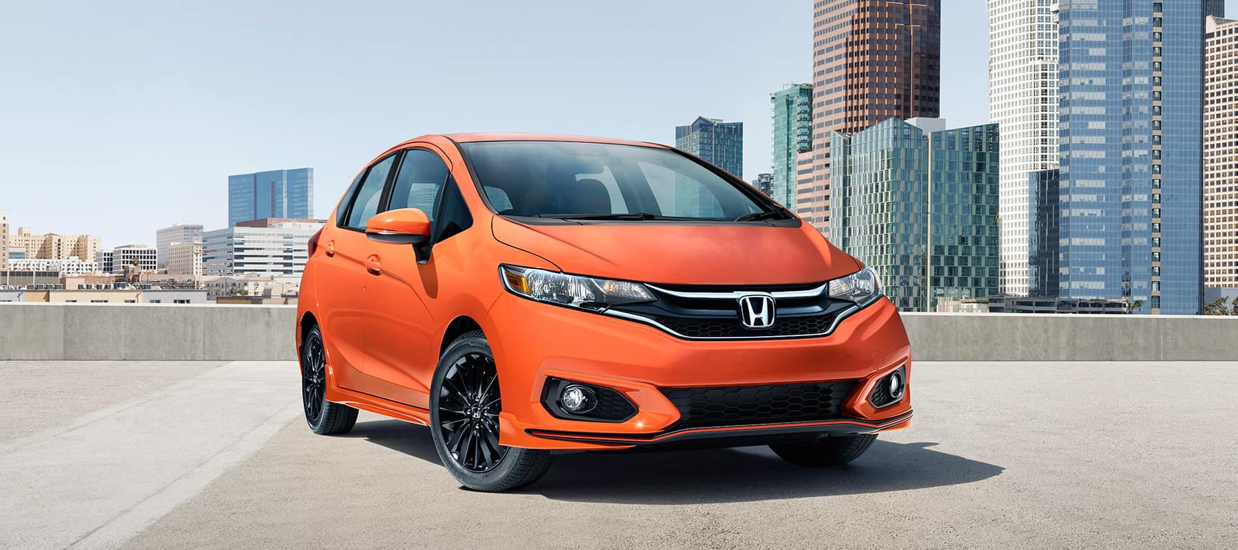 2018 honda fit what s new a sports trim new colors and technology. Black Bedroom Furniture Sets. Home Design Ideas