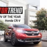 CR-V Named Motor Trend 2018 SUV of the Year