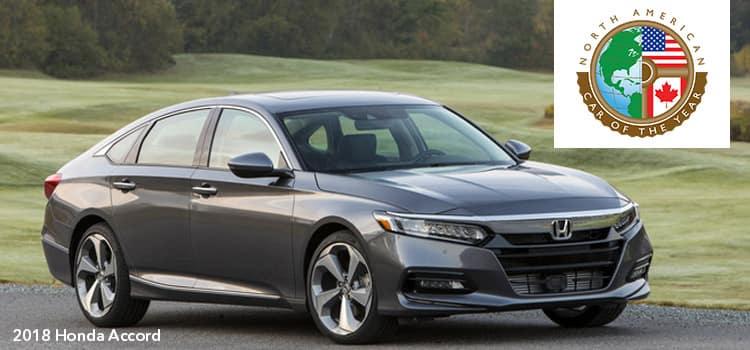 2018 Honda Accord Named 2018 North American Car of the Year