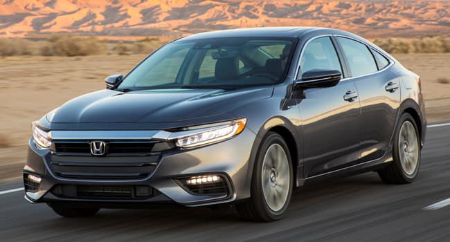 The All-New 2019 Honda Insight Coming Soon