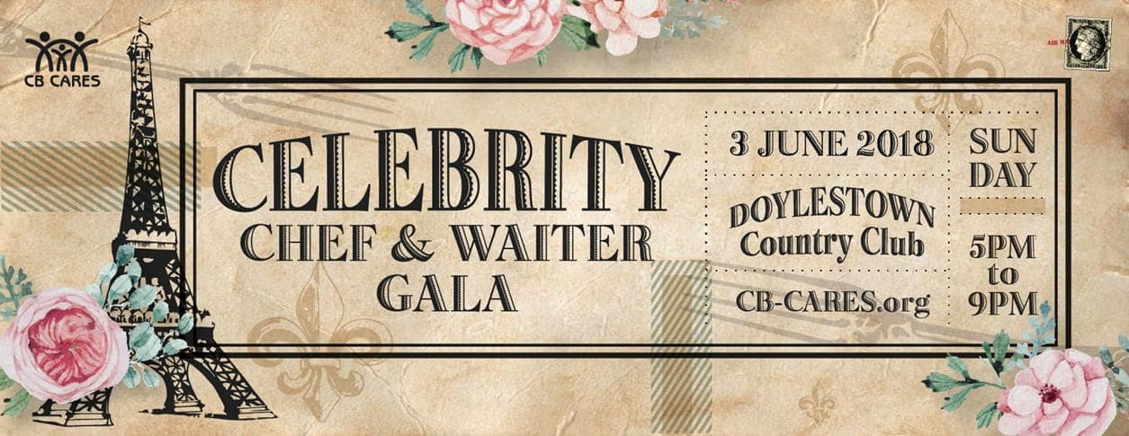 CB Cares 11th Annual Celebrity Chef & Waiter Gala 2018