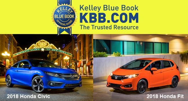 2018 Civic and Fit Land 2 Spots on KBB 10 Coolest Cars Under $20K List