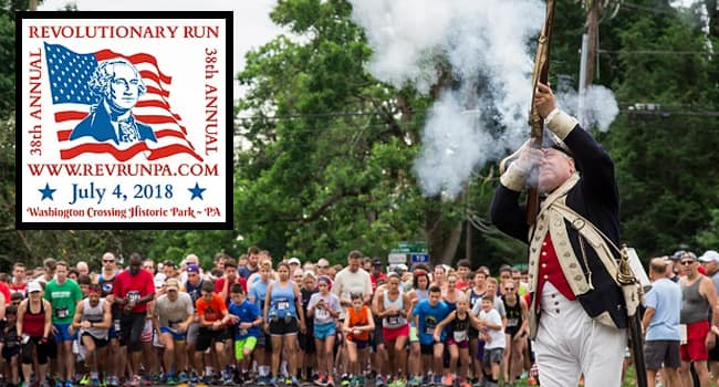 38th Annual Revolutionary Run 2018