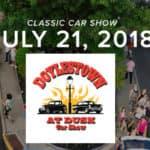 Doylestown at Dusk Car Show '18