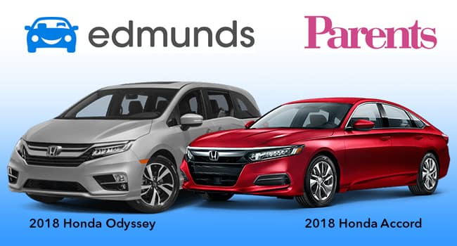 2018 Accord and Odyssey Recognized for Ultimate Family Friendliness