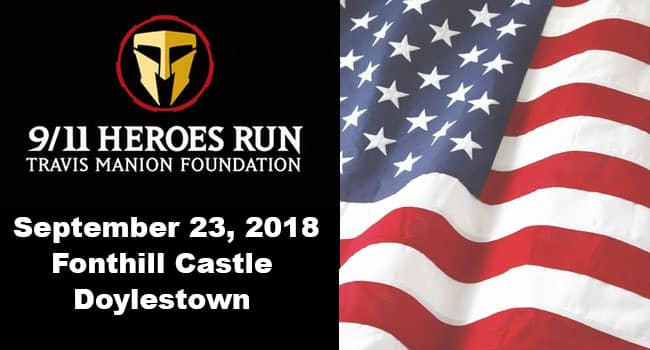 Travis Manion Foundation 9/11 Heroes Run 2018