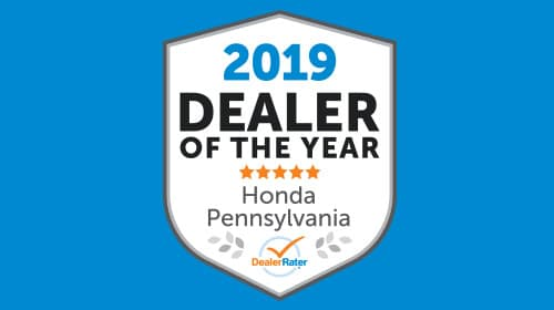 Keenan Honda Wins 2019 DealerRater Honda Dealer of the Year Award