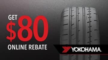 Yokohama Tire Rebate at Keenan Honda