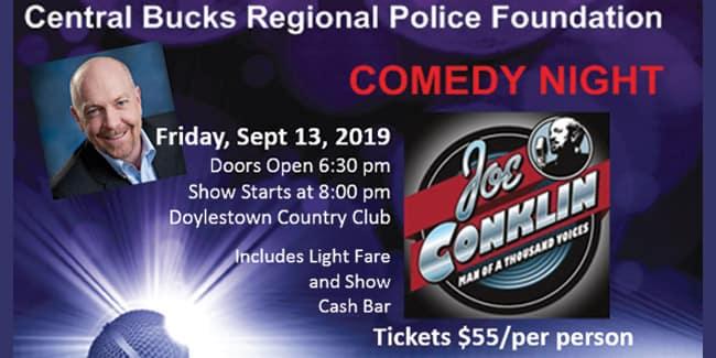 Central Bucks Regional Police Foundation Comedy Night 2019