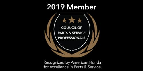 Council of Parts & Service Professionals - Keenan Honda